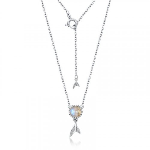 Sea-maid sterling silver necklace