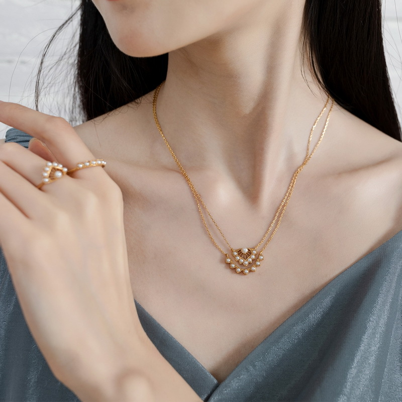 MappleLeaf sterling silver jewelry set