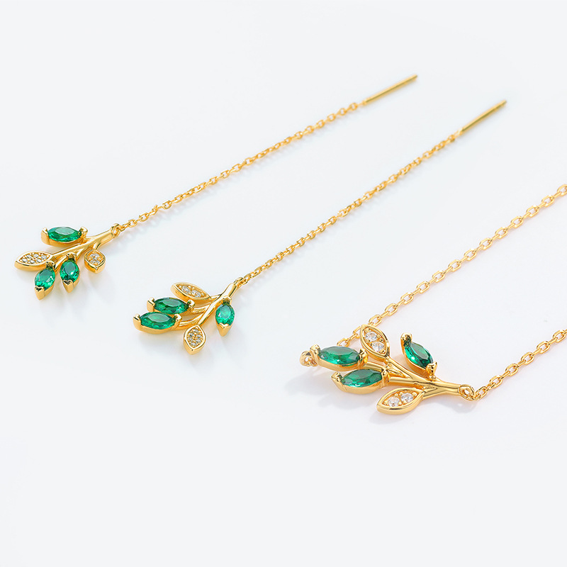 olive leaf jewelry
