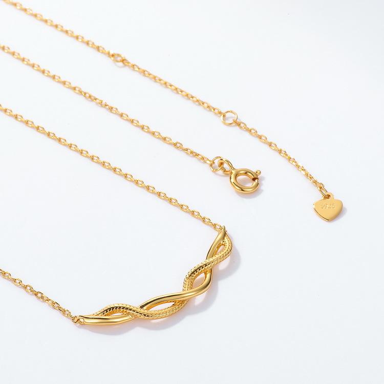 golden necklace chain