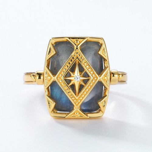 rotatable ring