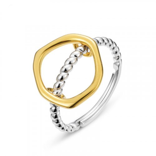 deformable silver ring