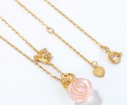 STJS00314 2 silver necklace