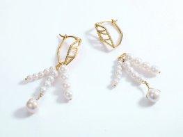 STJS00082 3 silver earrings