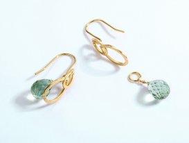 STJS00084 3 silver earrings