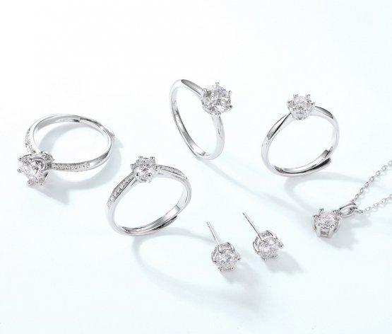 STJ-Moissan Diamond Jewelry Series